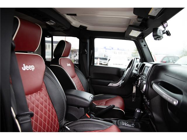 2016 Jeep Wrangler Unlimited Sahara (Stk: K586701A) in Surrey - Image 15 of 24