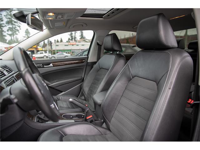 2015 Volkswagen Passat 1.8 TSI Highline (Stk: JT106660A) in Vancouver - Image 11 of 28
