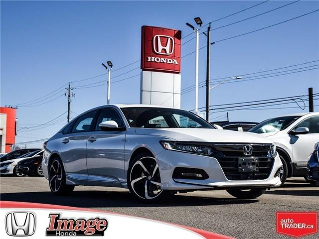 2019 Honda Accord Sport 1.5T (Stk: 9A153) in Hamilton - Image 1 of 19