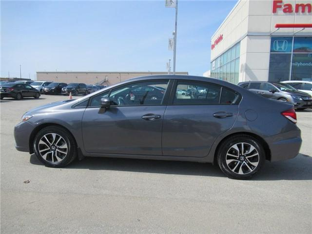 2015 Honda Civic EX, BACK UP CAM, ECO MODE! (Stk: 9114702A) in Brampton - Image 2 of 29