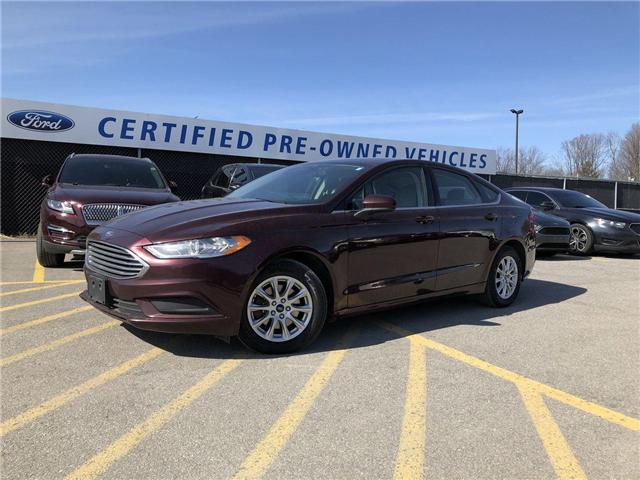 2017 Ford Fusion S (Stk: P8729) in Barrie - Image 1 of 21
