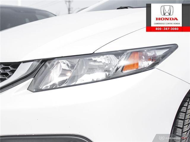 2014 Honda Civic LX (Stk: 19428B) in Cambridge - Image 10 of 27