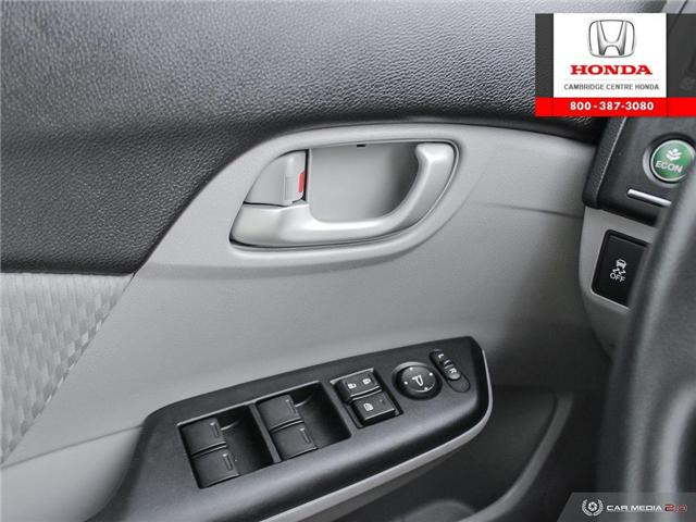 2014 Honda Civic LX (Stk: 19428B) in Cambridge - Image 17 of 27