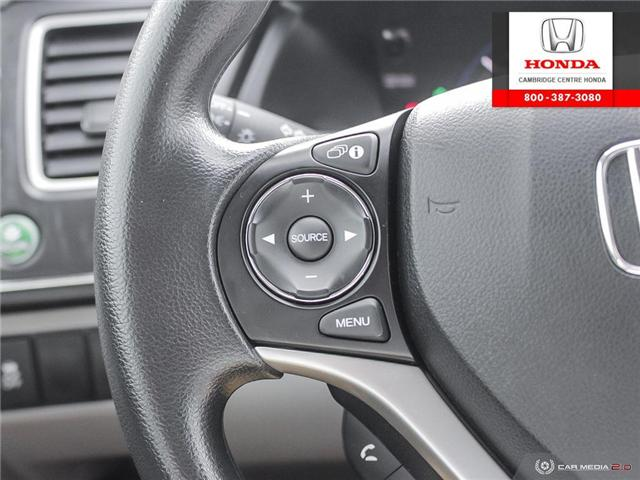 2014 Honda Civic LX (Stk: 19428B) in Cambridge - Image 18 of 27