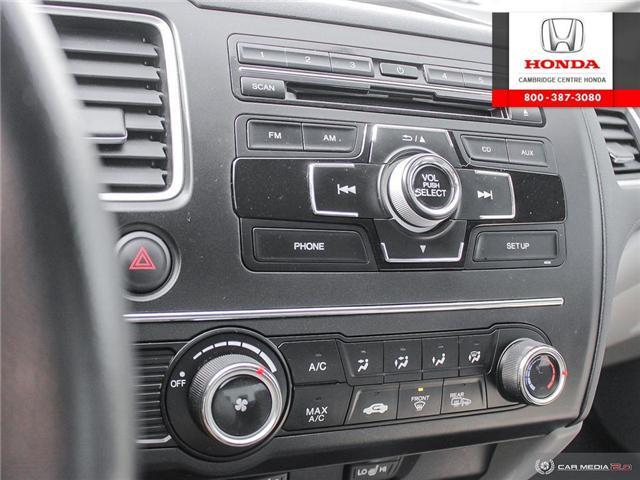 2014 Honda Civic LX (Stk: 19428B) in Cambridge - Image 20 of 27