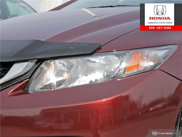 2015 Honda Civic Touring (Stk: 19158B) in Cambridge - Image 10 of 27