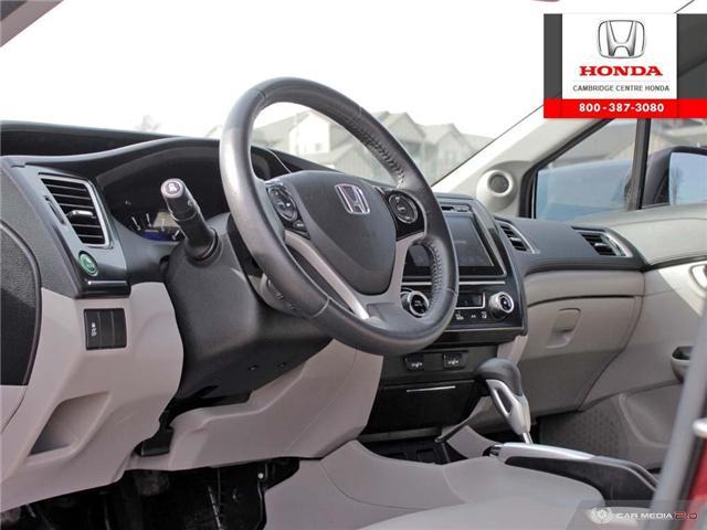 2015 Honda Civic Touring (Stk: 19158B) in Cambridge - Image 13 of 27