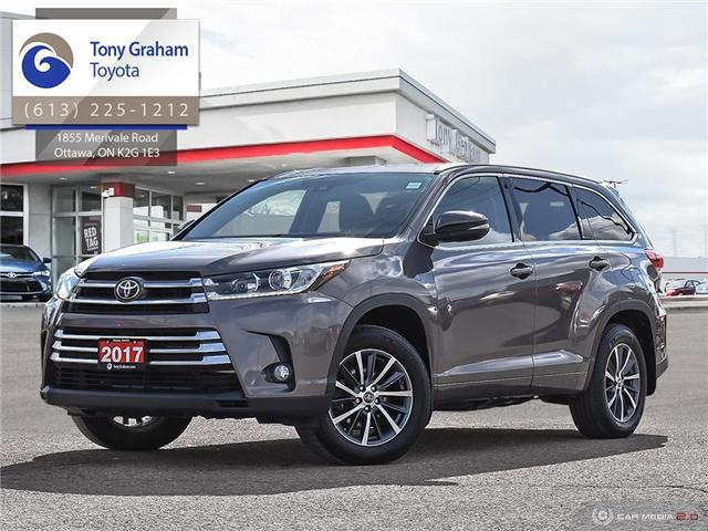 2017 Toyota Highlander XLE (Stk: 57959A) in Ottawa - Image 1 of 30