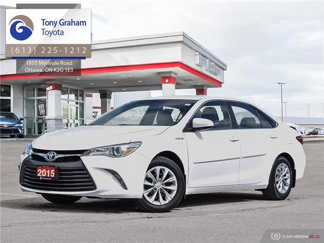 2015 Toyota Camry Hybrid LE (Stk: E7757) in Ottawa - Image 1 of 27
