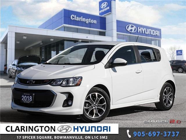 2018 Chevrolet Sonic LT Auto (Stk: 19106A) in Clarington - Image 1 of 27