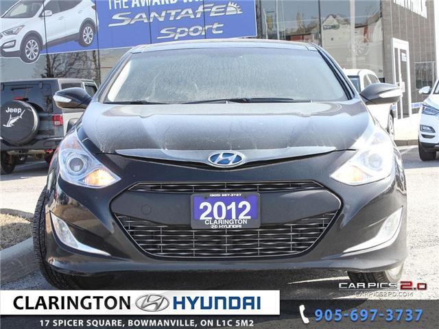 2012 Hyundai Sonata Hybrid Premium (Stk: 19131A) in Clarington - Image 2 of 27