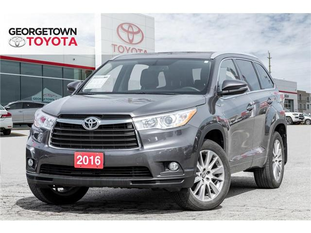 2016 Toyota Highlander  (Stk: 16-48795) in Georgetown - Image 1 of 20