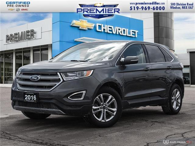 2016 Ford Edge SEL (Stk: 191604A) in Windsor - Image 1 of 27