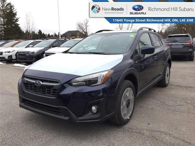 2019 Subaru Crosstrek  Sport CVT w/EyeSight Pkg (Stk: 32546) in RICHMOND HILL - Image 1 of 18