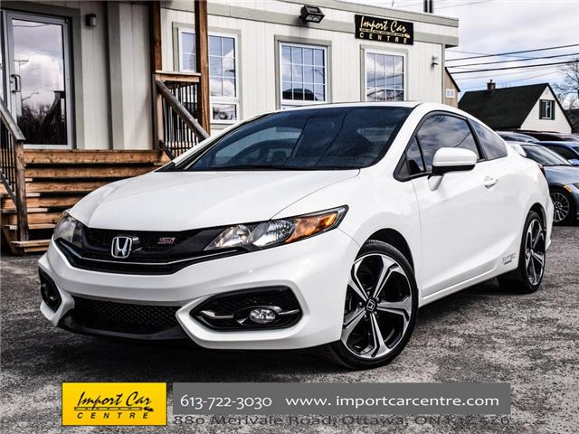 2015 Honda Civic Si (Stk: 100246) in Ottawa - Image 1 of 28