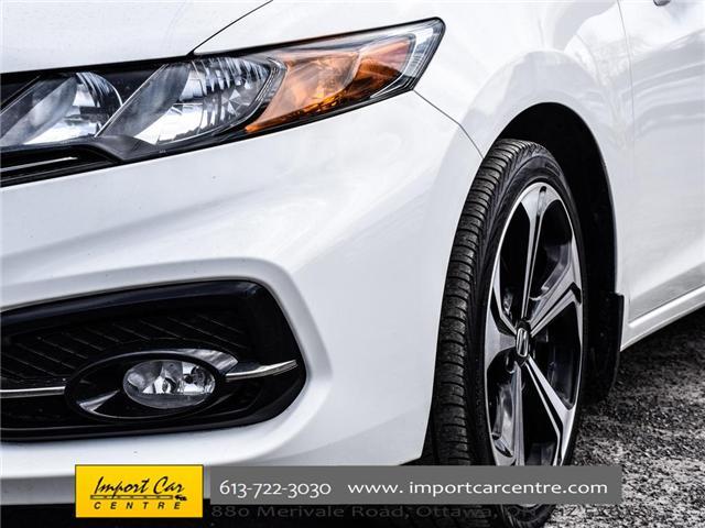 2015 Honda Civic Si (Stk: 100246) in Ottawa - Image 8 of 28