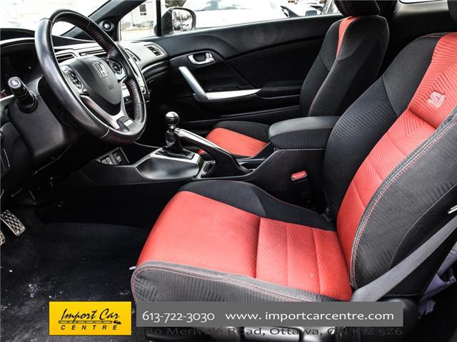2015 Honda Civic Si (Stk: 100246) in Ottawa - Image 10 of 28