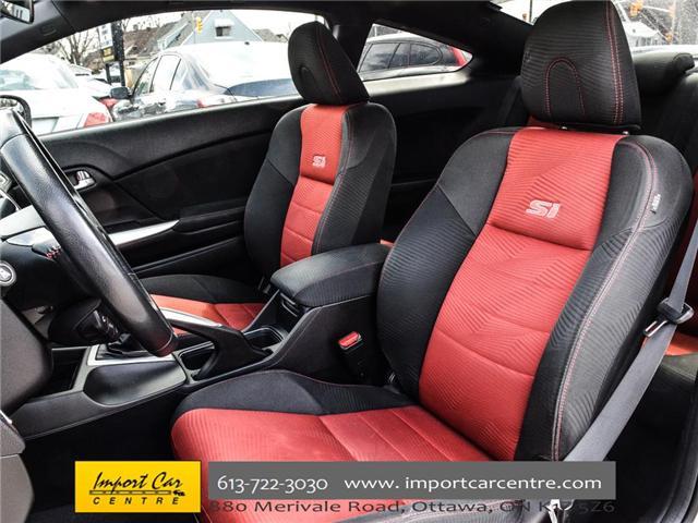 2015 Honda Civic Si (Stk: 100246) in Ottawa - Image 12 of 28