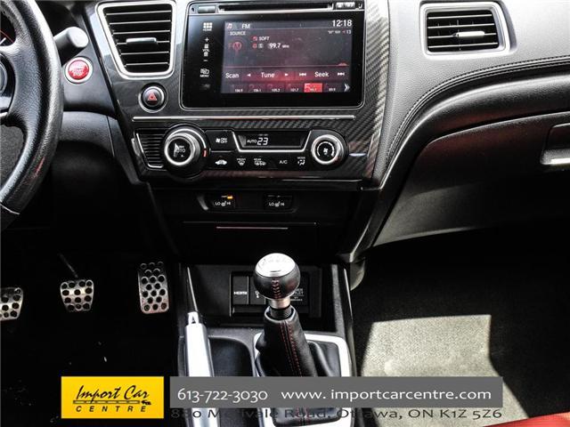 2015 Honda Civic Si (Stk: 100246) in Ottawa - Image 20 of 28