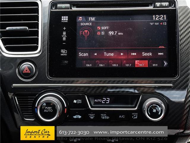 2015 Honda Civic Si (Stk: 100246) in Ottawa - Image 21 of 28