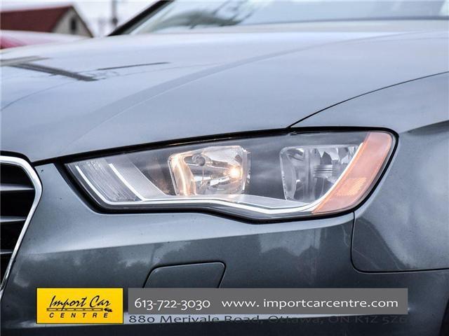 2015 Audi A3 1.8T Komfort (Stk: 010140) in Ottawa - Image 11 of 30
