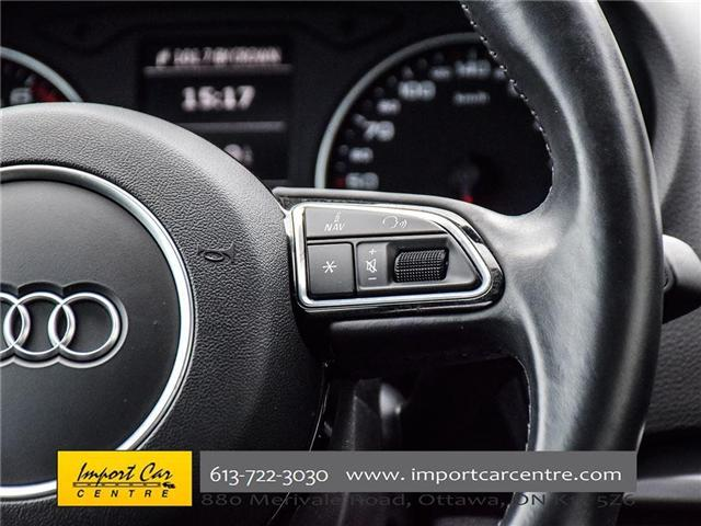 2015 Audi A3 1.8T Komfort (Stk: 010140) in Ottawa - Image 28 of 30