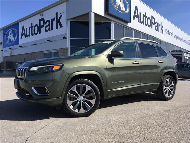 2019 Jeep Cherokee Overland (Stk: 19-54020RMB) in Barrie - Image 1 of 30