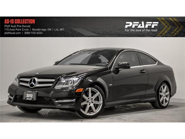 2012 Mercedes-Benz C-Class Base (Stk: C6616A) in Woodbridge - Image 1 of 22
