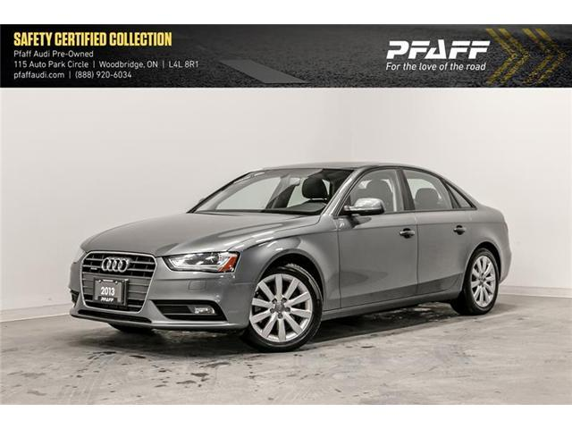2013 Audi A4 2.0T (Stk: T16340A) in Woodbridge - Image 1 of 21
