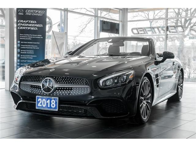 2018 Mercedes-Benz SL 550 Base (Stk: P0385) in Richmond Hill - Image 1 of 20