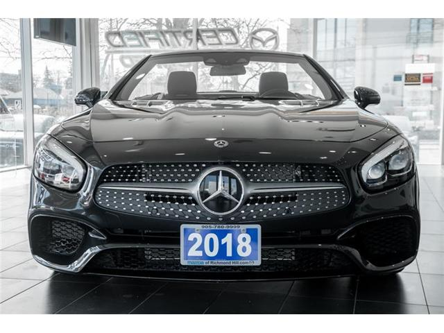 2018 Mercedes-Benz SL 550 Base (Stk: P0385) in Richmond Hill - Image 2 of 20