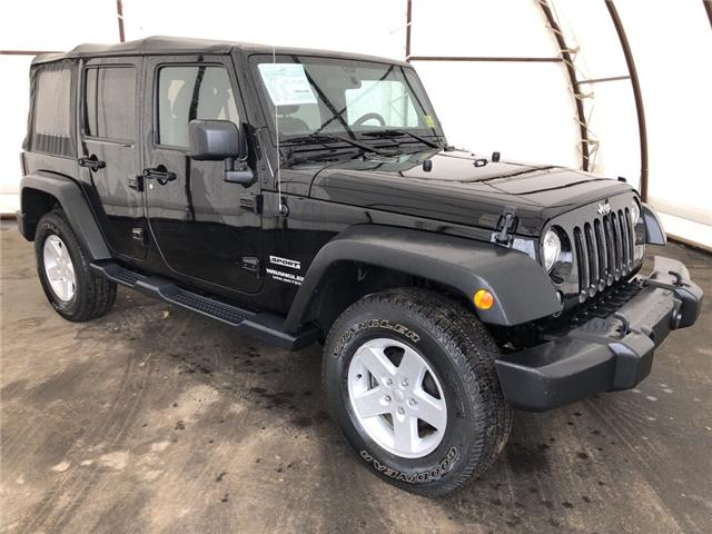 2017 Jeep Wrangler Unlimited Sport (Stk: I13761) in Thunder Bay - Image 1 of 12