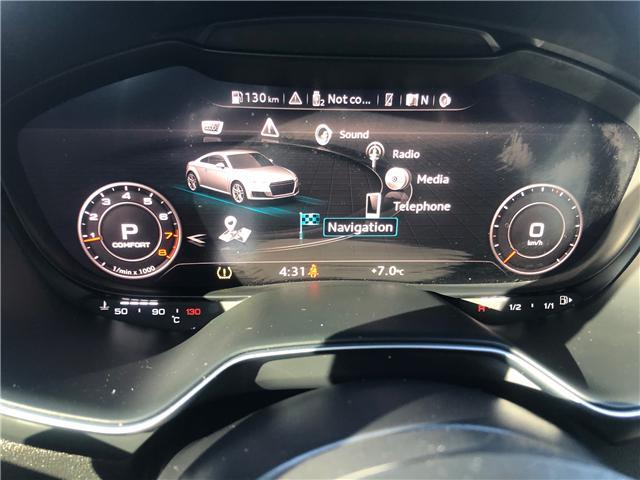 2017 Audi TT 2.0T (Stk: P0888) in Edmonton - Image 12 of 22