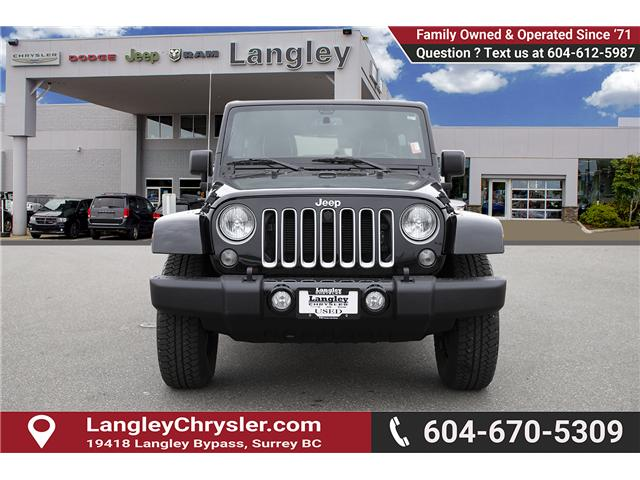 2016 Jeep Wrangler Unlimited Sahara (Stk: K586701A) in Surrey - Image 2 of 24
