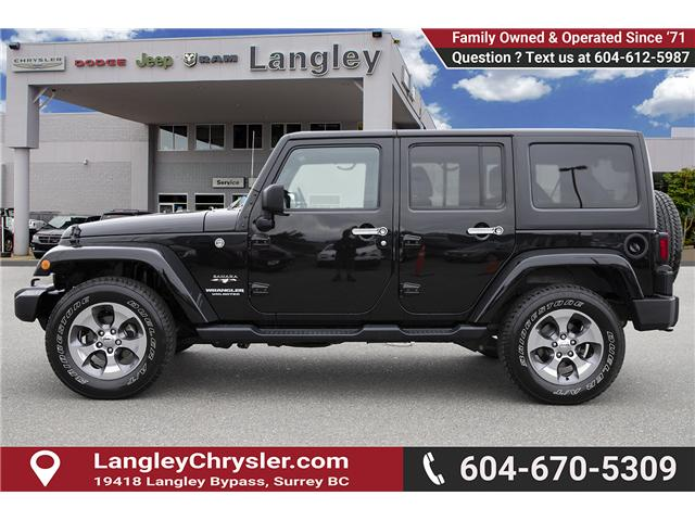 2016 Jeep Wrangler Unlimited Sahara (Stk: K586701A) in Surrey - Image 4 of 24