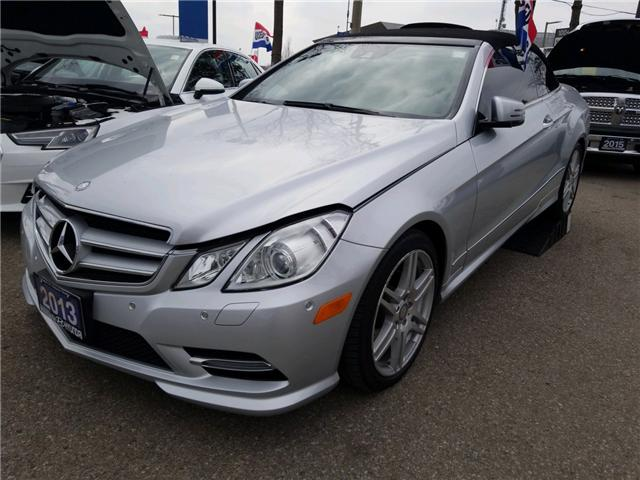 2013 Mercedes-Benz E-Class Base (Stk: 39699A) in Mississauga - Image 1 of 7