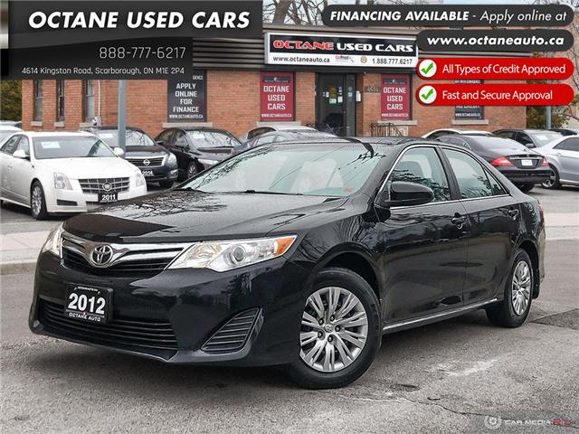 2012 Toyota Camry LE (Stk: ) in Scarborough - Image 1 of 23