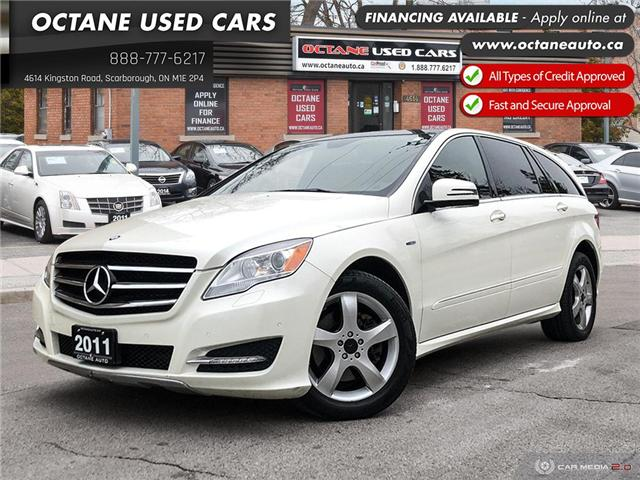 2011 Mercedes-Benz R-Class Base (Stk: ) in Scarborough - Image 1 of 25