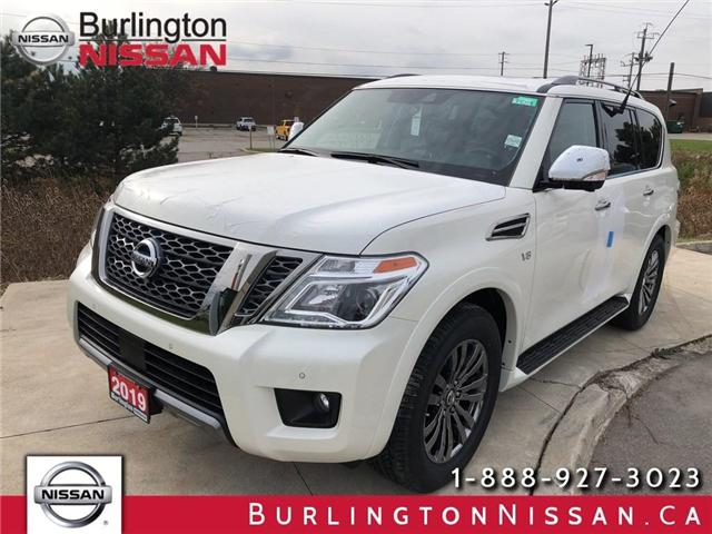 2019 Nissan Armada Platinum (Stk: Y4005) in Burlington - Image 1 of 5