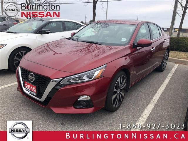 2019 Nissan Altima 2.5 Platinum (Stk: Y5513) in Burlington - Image 1 of 5