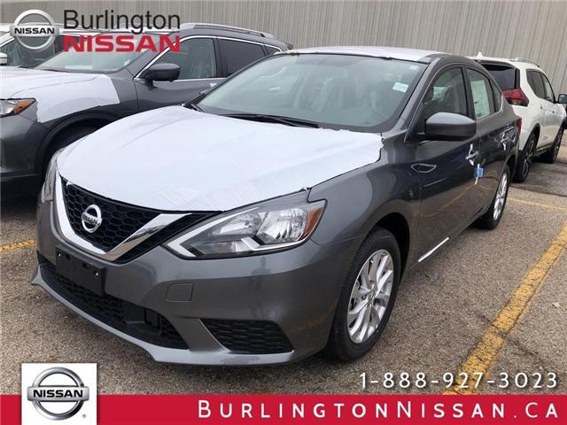 2019 Nissan Sentra 1.8 SV (Stk: Y6017) in Burlington - Image 1 of 5