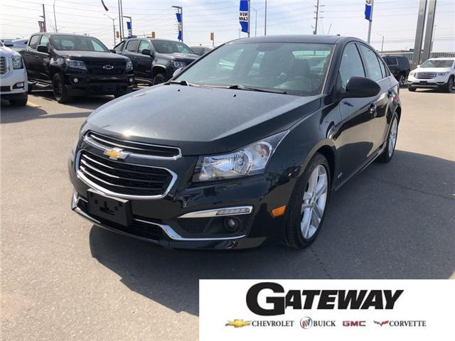 2015 Chevrolet Cruze 2LT|RS|LEATHER|ROOF|BLUETOOTH| (Stk: PA17998) in BRAMPTON - Image 1 of 17
