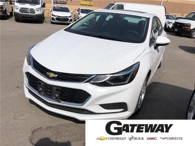2017 Chevrolet Cruze LT|SUNROOF|ALLOY RIMS|BACK UP CAMERA| (Stk: T709) in BRAMPTON - Image 1 of 1