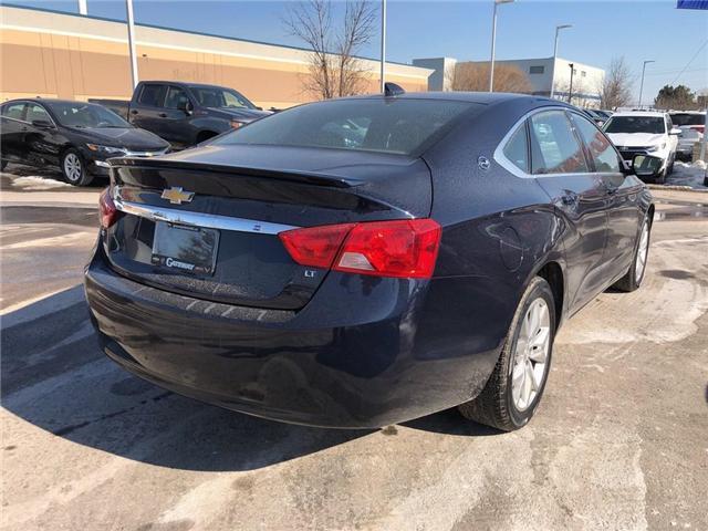 2018 Chevrolet Impala LT V6 ROOF HEATED SEATS HEATED STEERING WHEEL  (Stk: PA17905) in BRAMPTON - Image 4 of 19