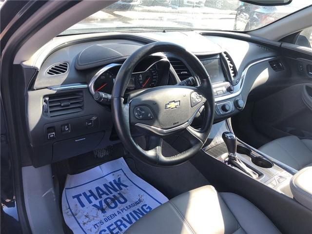 2018 Chevrolet Impala LT V6 ROOF HEATED SEATS HEATED STEERING WHEEL  (Stk: PA17905) in BRAMPTON - Image 9 of 19