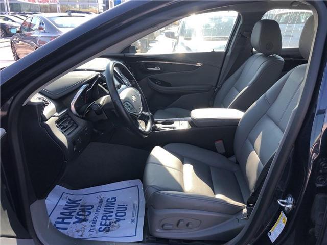 2018 Chevrolet Impala LT V6 ROOF HEATED SEATS HEATED STEERING WHEEL  (Stk: PA17905) in BRAMPTON - Image 10 of 19