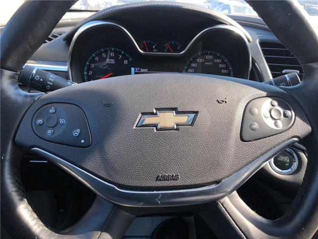 2018 Chevrolet Impala LT V6 ROOF HEATED SEATS HEATED STEERING WHEEL  (Stk: PA17905) in BRAMPTON - Image 14 of 19