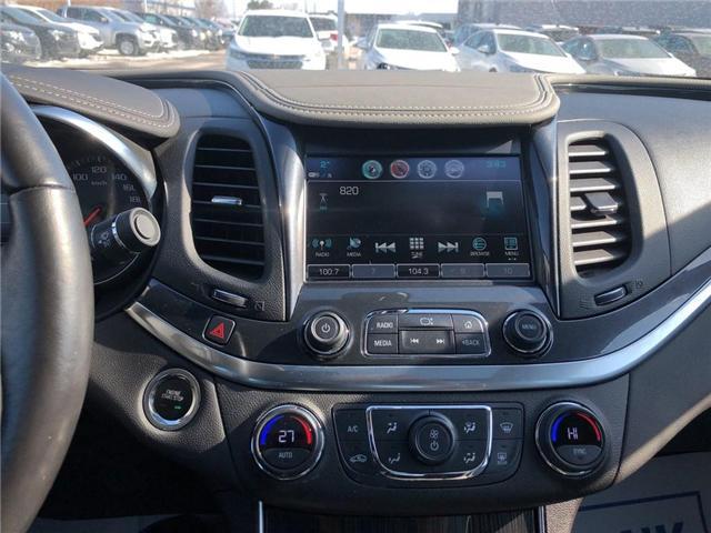 2018 Chevrolet Impala LT V6 ROOF HEATED SEATS HEATED STEERING WHEEL  (Stk: PA17905) in BRAMPTON - Image 15 of 19