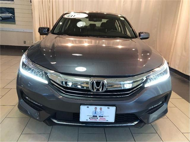 2017 Honda Accord Touring w/ Warranty till 2020/100,000km (Stk: 38764) in Toronto - Image 2 of 30
