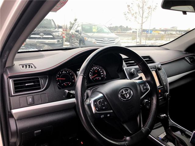 2016 Toyota Camry XSE (Stk: D182776A) in Mississauga - Image 10 of 19